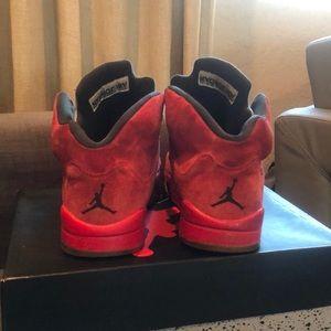 Jordan Shoes - jordan 5 'red suede'